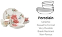 Lenox Butterfly Meadow Holiday 12-Piece Dinnerware Set Poinsettias and Jasmine Design, Created for Macy's